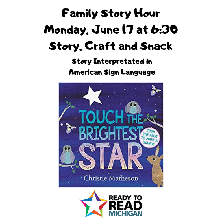 Family Story Hour Monday, June 17 at 6_30 Story, craft and snack.png