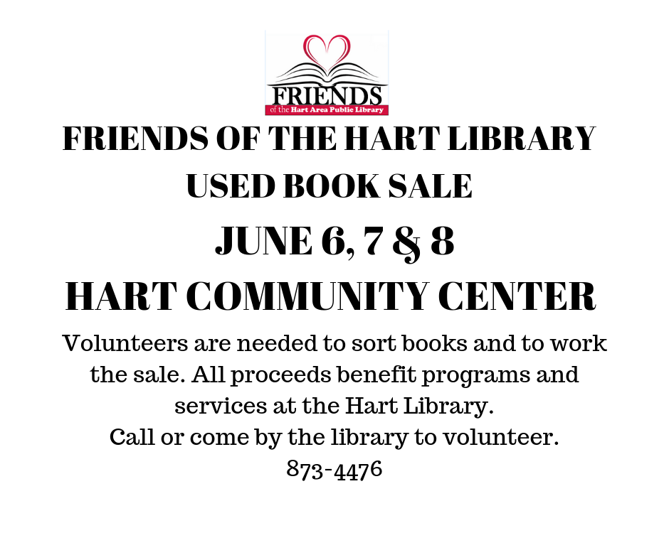 FRIENDS OF THE HART LIBRARY USED BOOK SALE (2).png