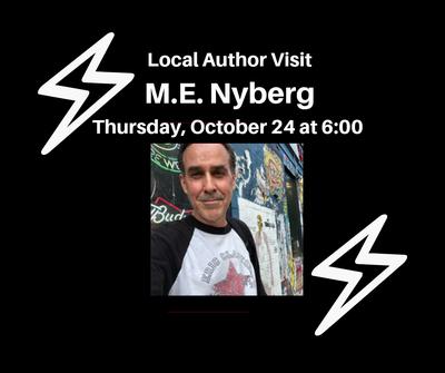 Author Visit- M.E. Nyberg