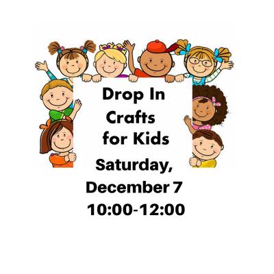 Drop-In Craft 4 Kids