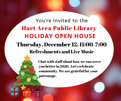 Library Holiday Open House