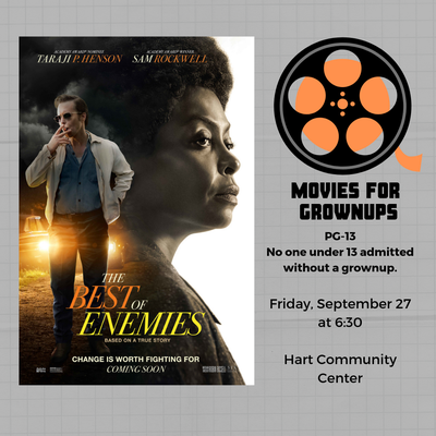 Movies for Grownups- The Best of Enemies
