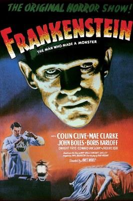 Oceana Frankenreads Frankenstein Movie