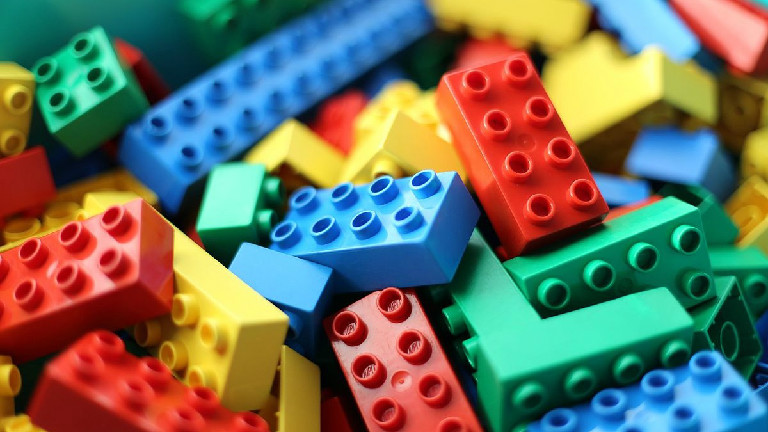 LEGOs at the Library