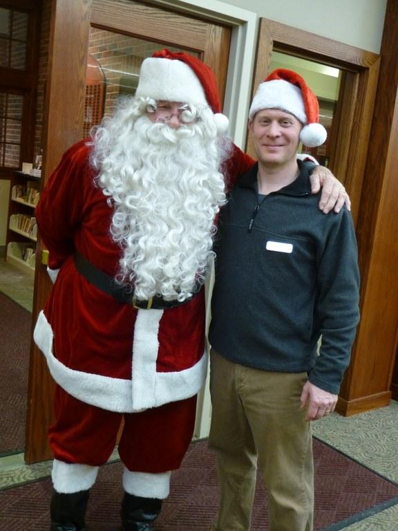 Santa and Scott