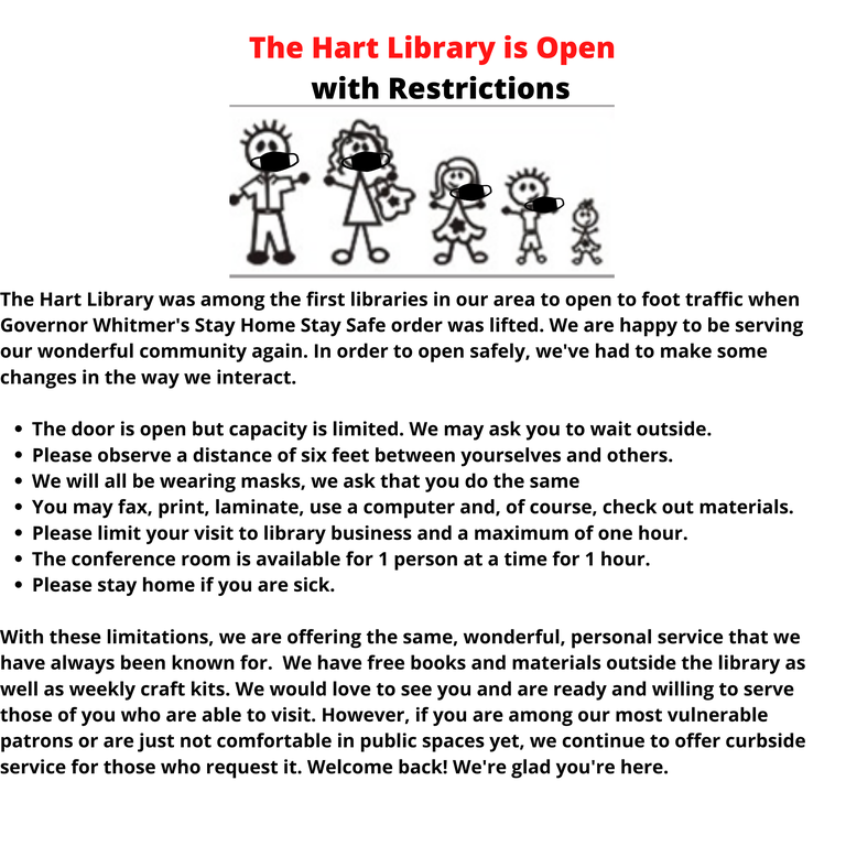 The Hart Library is Open with Restrictions (3).png