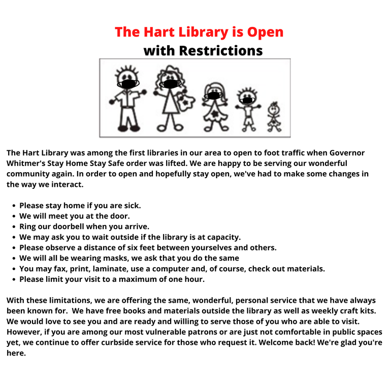 The Hart Library is Open with Restrictions.png